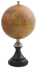 Authentic Models GL044 Versailles Desk Globe Brass Honey French Finish