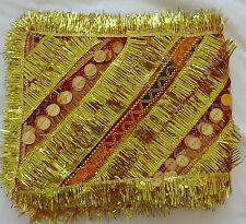Mata ki chunni orhni Dupatta women red net chunri for pooja Set of 2