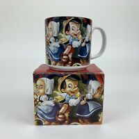 Disney Classics Collection Pinocchio Wooden Puppet Vintage Mug Rare New & Boxed