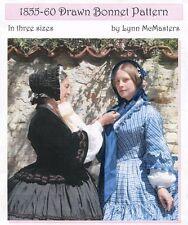 Ladies Victorian 1855-60 Drawn Bonnet - Lynn McMasters Sewing Pattern