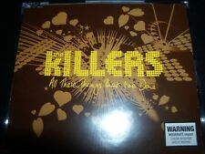 The Killers All These Things That I've Done/ Mr Brightside Rare Aust Print CD