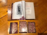 The Seven Lamps of Architecture John Ruskin ANTIQUE Book LONDON # Limited Ed.