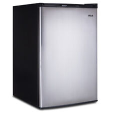 3.0 Cubic Feet Stainless Steel Upright Freezer Compact Mini Storage Space Office