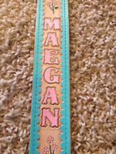 """Personalized 2"""" Custom Leather Guitar Strap"""