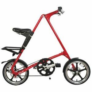 STRIDA Lt Rosso 16 Pollici Bicicletta Ripiegabile Citybike