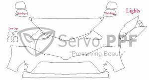 Precut 3M PRO Series Clear Bra Kit for 18+ Toyota Sienna