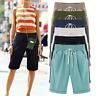 Womens Casual Loose Shorts Bermuda Capri Trousers Summer Beach Cropped Pants 6XL