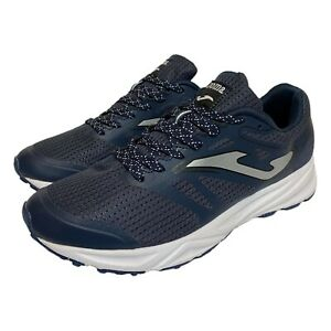 JOMA Mens Fast 803 Athletic Running Shoes Blue White Size 7 US Barely Worn