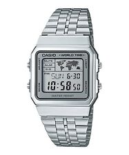A500WA-7D Casio Men's Watches Digital Stainless Steel Band Brand-New Model New