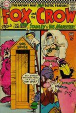THE FOX & THE CROW #98: DC COMICS 1966: SILVER AGE AMERICAN COLOR COMIC