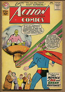 Action Comics #275 - The Menace of Red&Green Kryptonite! - 1961 (Grade 4.5) WH