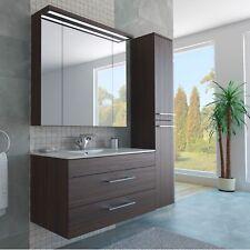 Badezimmer-Möbel  *TOP QUALITÄT* Spiegelschrank, Waschbecken, Hochschrank Braun