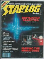 STARLOG # 27 SCI-FI MAGAZINE 1979 BATTLESTAR GALACTICA EPISODE GUIDE STAR TREK