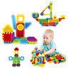 112 PCS Hedgehog Soft Bristle Building Blocks Educational Kids Assembled DIY Toy