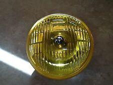 JAGUAR XK120 XK150 MG MGA T SERIES LUCAS SFT576 YELLOW FOG LAMP LIGHT UNIT