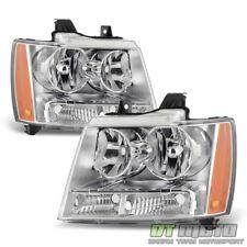 2007 2014 Chevy Suburban 1500 Avalanche Tahoe Headlights Headlamps Leftright Fits 2007 Chevrolet Suburban 1500