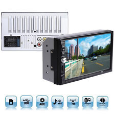 "US Sales 7"" 1080P Touch Screen FM Bluetooth Radio Audio Stereo Player&HD Camera"