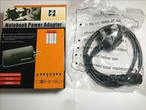 15V 3A 4A 4.5A AC-DC Adaptor Power Supply Universal Selection of Tips