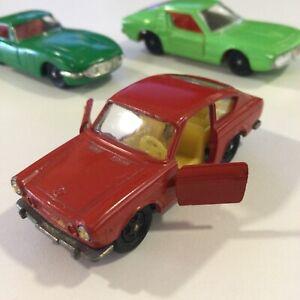 VINTAGE SIKU V301 RED FIAT 850 HATCHBACK DIE CAST 1:64 VARIANT GERMANY