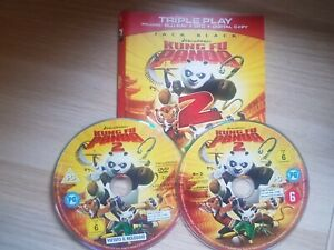 Kung Fu Panda 2 (Blu-ray and DVD Combo,)** DISC AND COVER ONLY **