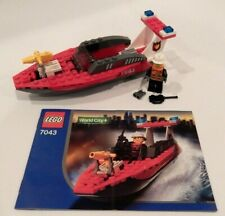 Lego 7043 Firefighter World City Fire 100% Complete
