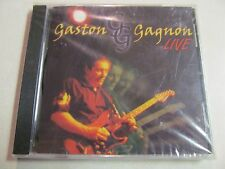 GASTON GAGNON LIVE NEW SEALED 1998 BLUES CD CBC RADIO QUEBEC GUITARIST OOP HTF