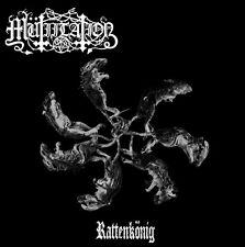 Mutiilation - Rattenkonig CD 2013 Mütiilation reissue black metal France