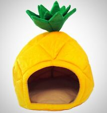 Pet Bed House Pineapple Home Cozy Soft Dog Cat Puppy Kitty Small Animal Shelter
