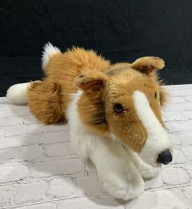 "Animal Alley Collie Dog Plush 24""Toys R Us Lassie"