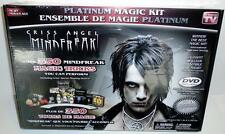 NEW Criss Angel Mindfreak Platinum Magic Kit Over 350 Tricks Cards Dvd Chris