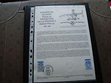 FRANCE - document officiel 1er jour 14/5/1983 (propriete industrielle) french