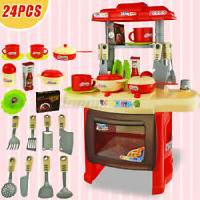 Kids Pretend Role Play Toy Home Oven Kitchen Dinner Children Food Cooking Gif