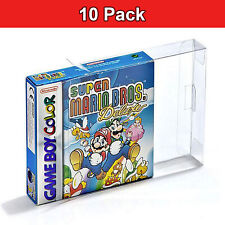 Clear Protective Box Game Boy x10 PET Case Display Gameboy Color GBA