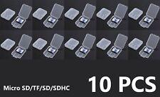 Hard Shell Micro SD, SD SDHC Memory Card Case Holder Box Storage Hard Plastic