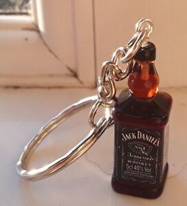 💥💥NEW💥💥Gift Jack Daniels Bourbon Bottle Keyring💥💥