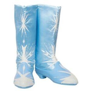 Disney Frozen 2 Elsa Blue Girls Boots Fits Size 4-13 New - FREE SHIPPING