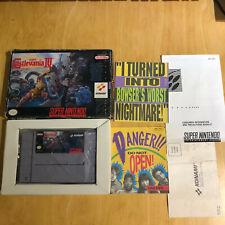 Super Nintendo / SNES - Boxed NTSC - Super Castlevania IV