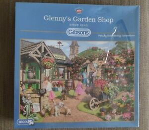 Gibson 1000 Piece Jigsaw - Glenny's Garden Shop - Brand New in wrapper