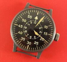 WWII Laco FL23883 LUFTWAFFE Germany Pilots Navigation Watch 55 mm Diameter Case