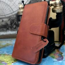 Samsung Galaxy S20 Real Leather Pelle Wallet Folio Book Case Tan MK2
