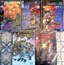 """Lot de 5 """"BLACKOPS""""  n°1 à 5 de 1996 - Version US Image Comics"""