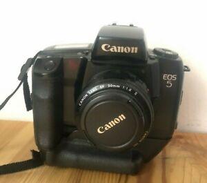Canon EOS 5 + 50mm F1,8 Objektiv