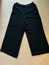 NEW - Abercrombie & Fitch High Rise Pants (Size XL, Black)