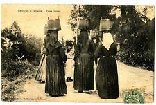 CPA Corse Porteuses d'eau Retour de la fontaine Types Corse