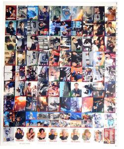 1997 Inkworks James Bond 007 Tomorrow Never Dies Uncut Sheet Set (90-cards)