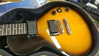 Epiphone Les Paul inspired special II sunburst electric guitar