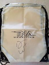 TNA Impact Wrestling Brown Bag AUTOGRAPHED By DON WEST Drawstring Bag NEW Signed