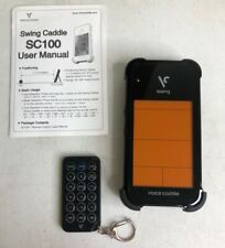 Swing Caddie SC100BK Golf Swing Caddie Portable Launch Monitor - Black