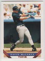 1993 Topps Baseball Minnesota Twins Team Set