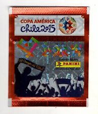 10 envelopes   Copa America Chile 2015 Panini latin america versionfrom Brazil